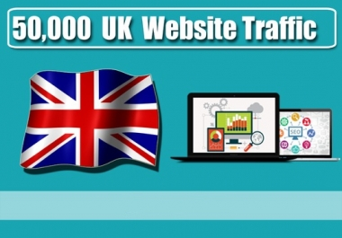 Provide 50,000 Organic Traffic from UK