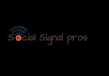 11,000 SEO Social Signals From Pinterest Facebook Buffer