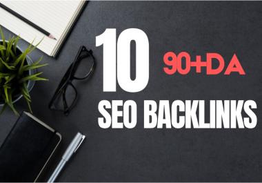 10 High DA SEO Backlinks From 90+DA