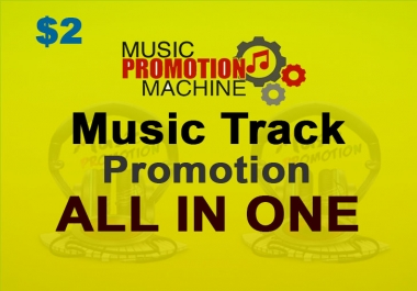 Music Promotion Provide in Your Audio or Music Track
