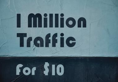 1 MIllion Website Traffic From Google