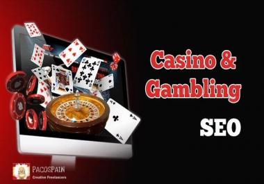TOP rocking Casino & Gambling SEO