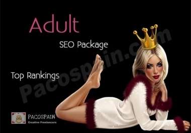 Buy this ADULT Ranking Package – Top Google Results