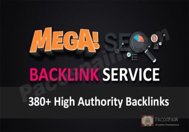 Rank Up Your Site with High Authority 380+ SEO backlinks