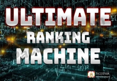 Ultimate Ranking Machine For Websites – Top Results!