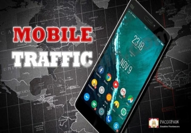 MOBILE Web Traffic For Your Website