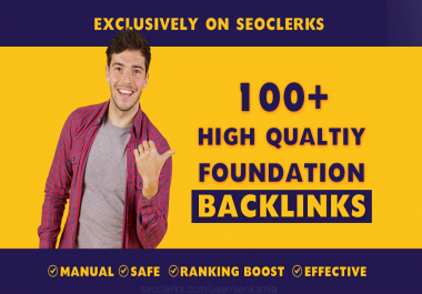 Build SEO backlinks white hat manual link building service