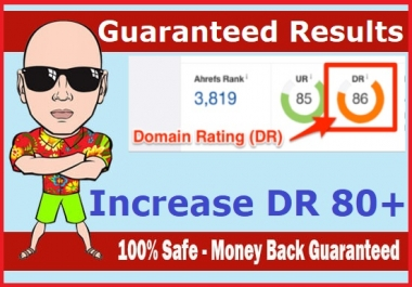 increase Domain Rating Ahrefs DR 70 Plus