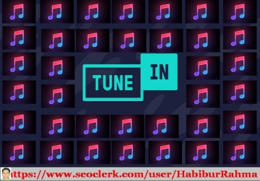 Best work at TuneIn Radio prmotion to your TuneIn Radio