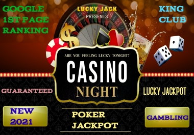 Premium Backlinks for your Gambling Casino Website To Top on First Page on Google 11000 Backlinks