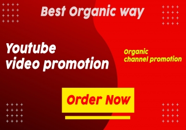 Promote your youtube video in an organic way