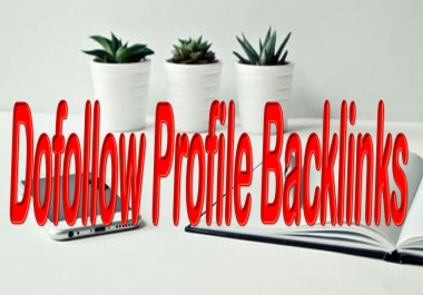 Manually 50 Profile Backlinks and improve Your Website Rank On SERPs.