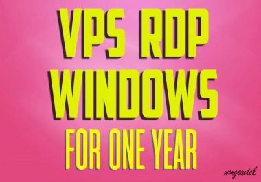 Provide Vps windows or linux one year