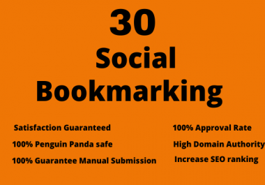 30 Bookmarking SEO Backlinks to boost your Website Ranks
