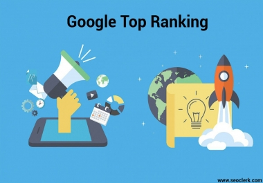 Provide You monthly SEO service for Google Top Ranking