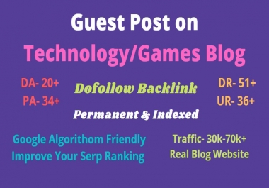 Publish A HQ SEO Guest Poost With Dofollow Backlink To Rank Your Website Fast