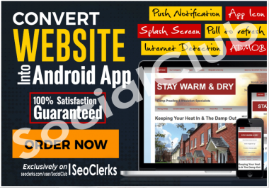 Convert Your Website,Blog,YT Chanel,Fb Page Etc To Android App