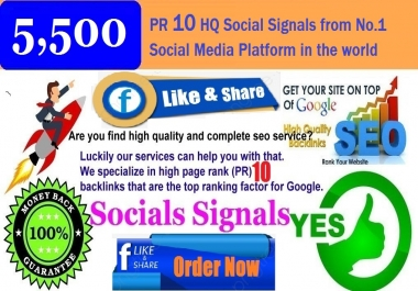 GET POWERFUL 5,500 SOCIAL SIGNALS FROM WEBSHARES ONLY HIGH (PR 10) BACKLINKS TO WEBSITE IMPROVING
