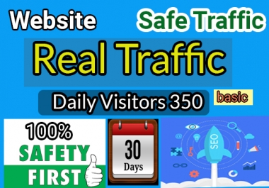 I will drive real targeted Website traffic, quality visitors