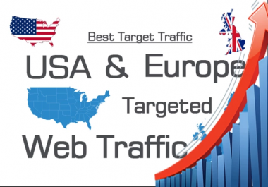 I will bring targeted traffic 7 days USA/ UK website traffic 7000 visitors
