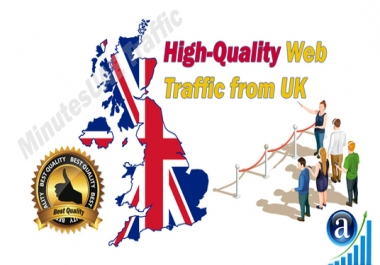 I will bring 1000 UK targeted traffic