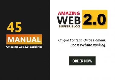 45 Amazing Web 2.0 Backlinks To Boost Your Website RANKING