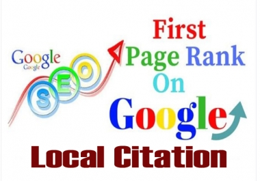 I will Provide you the Best Local Citation Services to Rank on 1st Google Page