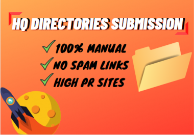 I will provide 50 high-quality directory submissions