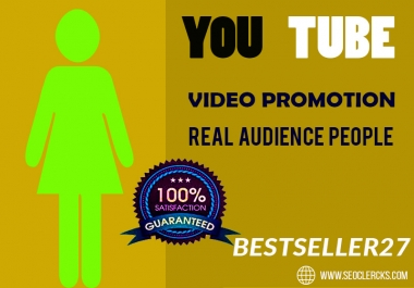 youtube video promotion Growing on social throw Organic way