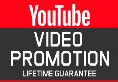 Organic Video Promotion and Marketing NON DROP