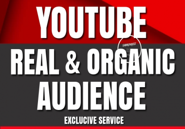 YouTube Account PROMOTION To Get Real And Organic Audience