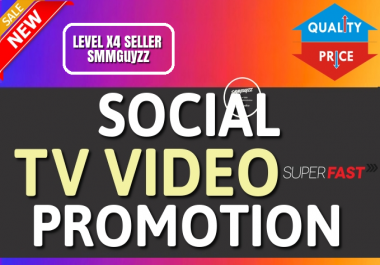 Get HQ Social Video Promotion and Marketing
