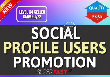 Add High Quality Fast Profile Users