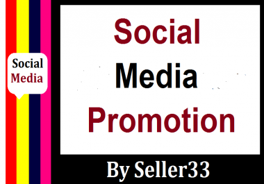 Social Media Pics, Video Promotion Non Drop And Instant Delivery