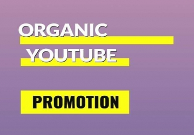 Wonderful pack instant youtube promotion very fast in 72 hours complete
