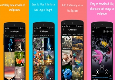 Create a CUTE WALLPAPER App for You