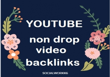 220+ Manual high Quality Back-links on your video links very fast complete work