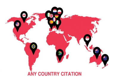 I will do top 30 live citations for any special country