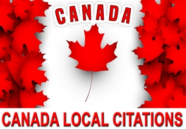I will create best 200 CANADA local seo citations/listings. Satisfaction Guaranteed !!