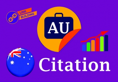 I will Do Manually TOP 60 Live AUSTRALIA Local Citations for Local SEO. Satisfaction Guaranteed!!