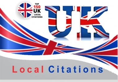 I will create Manually Best 150 Live UK Local Citations/Listings. Satisfaction Guaranteed
