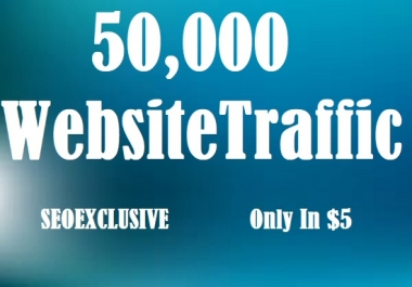 50000 Universal Website Traffic