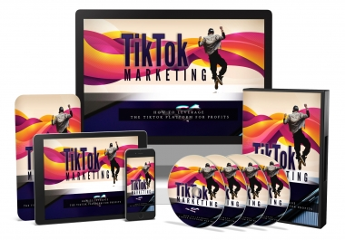 I will give you the TikTok Marketing video course with reselling tools