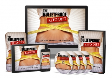 I will give you The Bulletproof Keto Diet, Video Course & Reselling Tools
