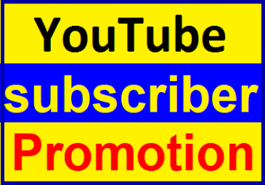 Real & Active USA,France Channel Subcriber Promotion Within 2-4 Hours Complete