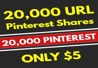 20,000 PR10 Pinterest Web Pin Social Signals - SEO RANKING FACTOR