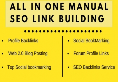 Flash Sale All In One SEO Link Building Package