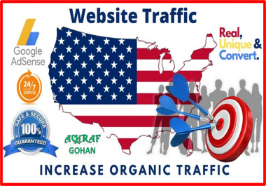 2000 + USA Targeted High-Quality Traffic | Good For Ranking & Safe For Your Adsense