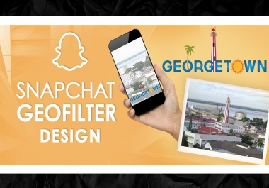 I will Design Geofilter for Snapchat
