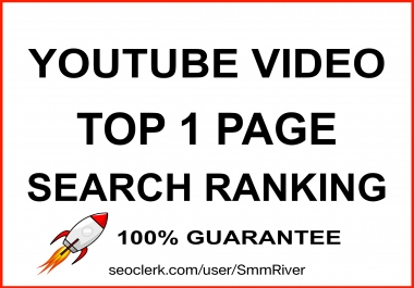 ULTIMATE YOUTUBE VIDEO RANKING GUARANTEE TOP 1 PAGE - TOP RESULTS 2020